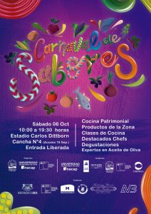Carnaval de Sabores en Arica, Sábado 6 de Octubre.