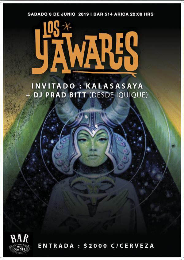 LOS YAWARES & KALASASAYA EN ARICA, BAR 514