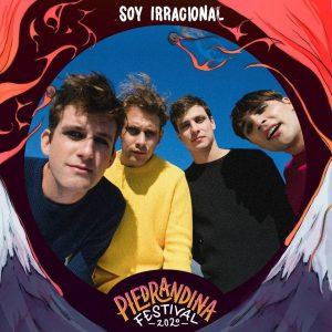 Soy Irracional se presentarán en el festival Piedra Andina 2020