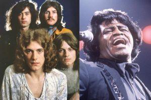 La canción de Led Zeppelin que fue inspirada en James Brown