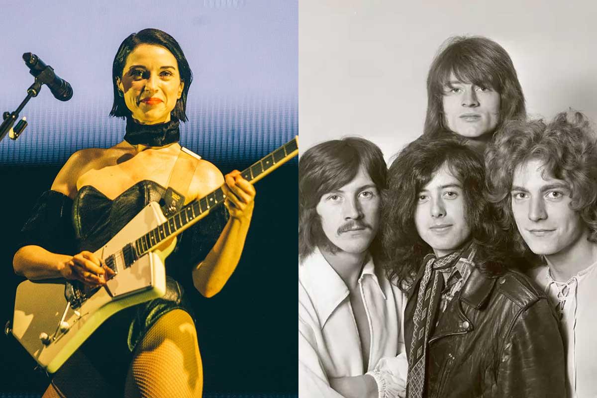 St. Vincent versiona «Stairway to Heaven» de Led Zeppelin: Mirá el video