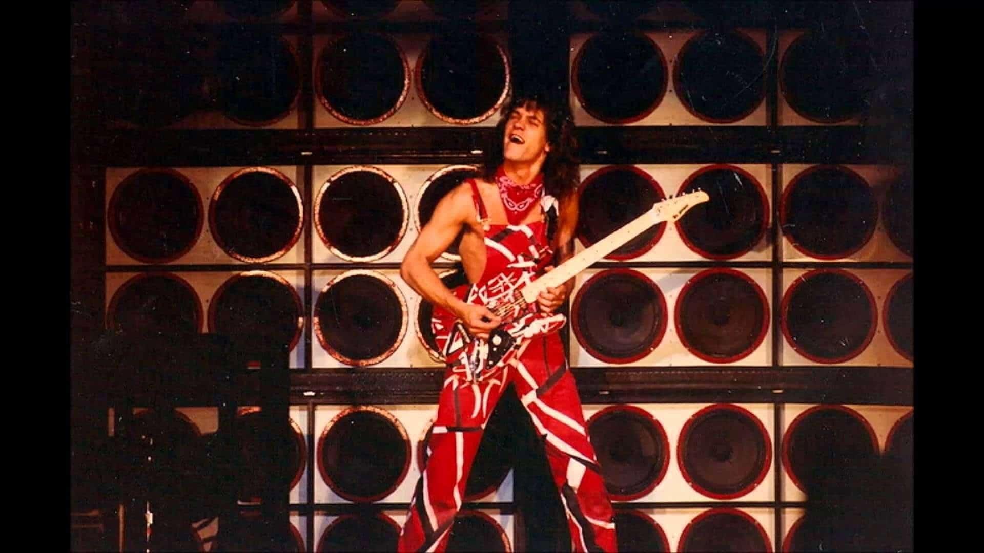 El rock esta de luto. Murió a los 65 años el legendario guitarrista Eddie Van Halen